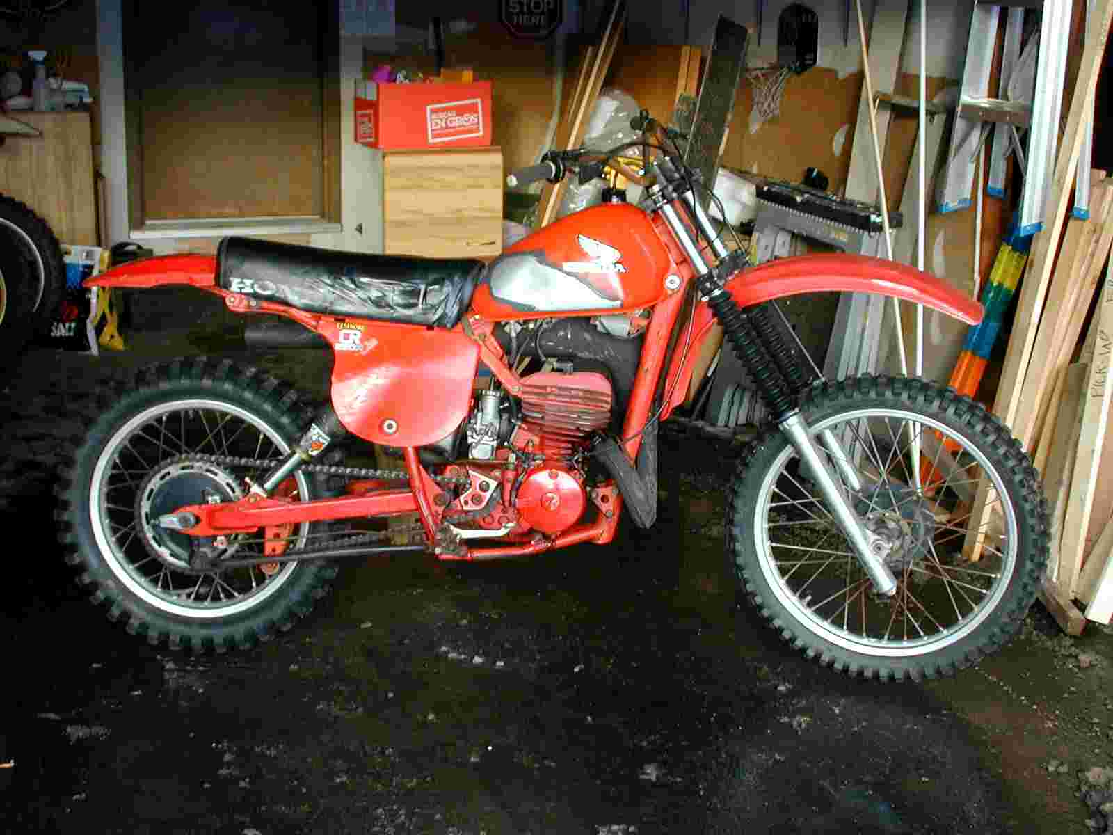 motoxcross museum 78 honda cr250 project